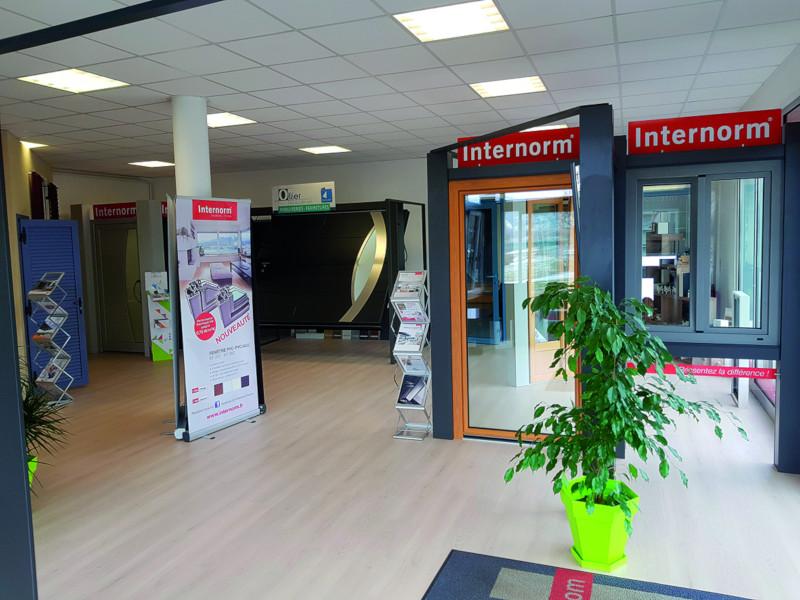 Showroom Internorm de la Menuiserie Ollier en Haute-Loire