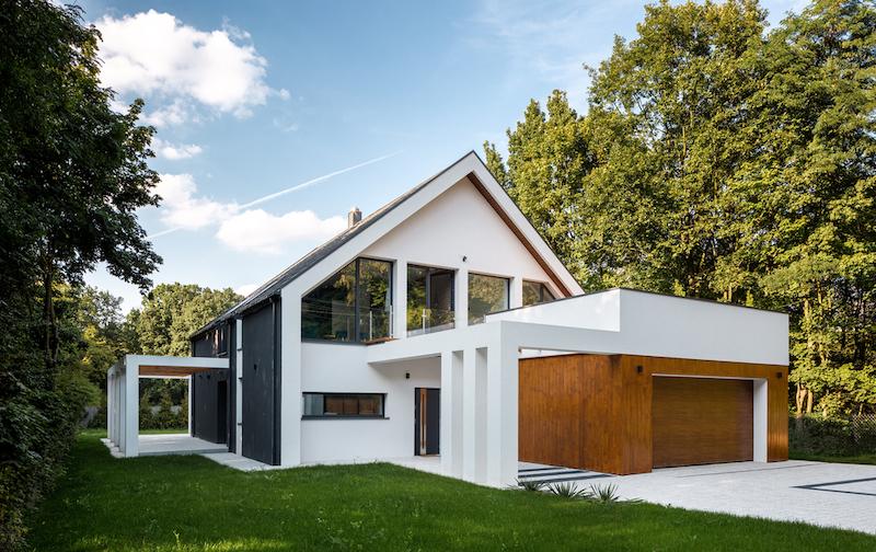 Matériau fenêtres maison passive