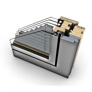 Fenêtre bois à store intégré HV 450 Home Pure triple