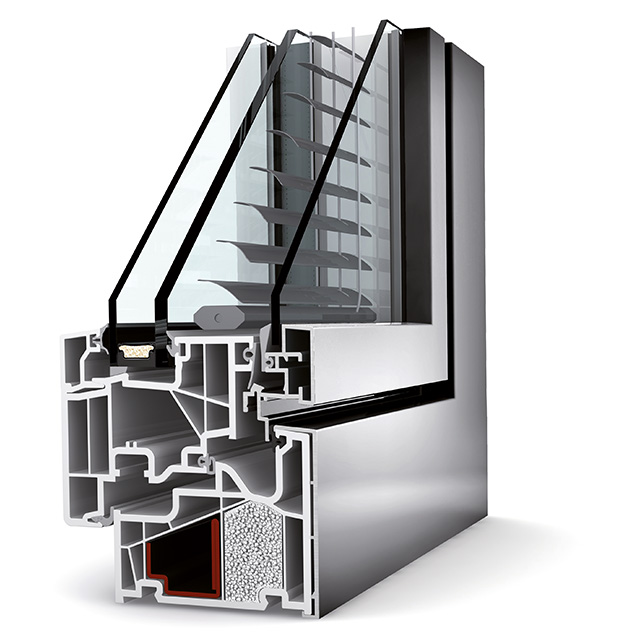 Fenêtre Store intégré KV440 Home Pure