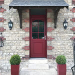 Porte d'entrée PVC 410 ambiance