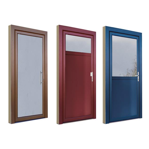 Porte d'entrée bois 310 panneaux