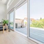 Porte-fenêtre coulissante PVC à levage KS430