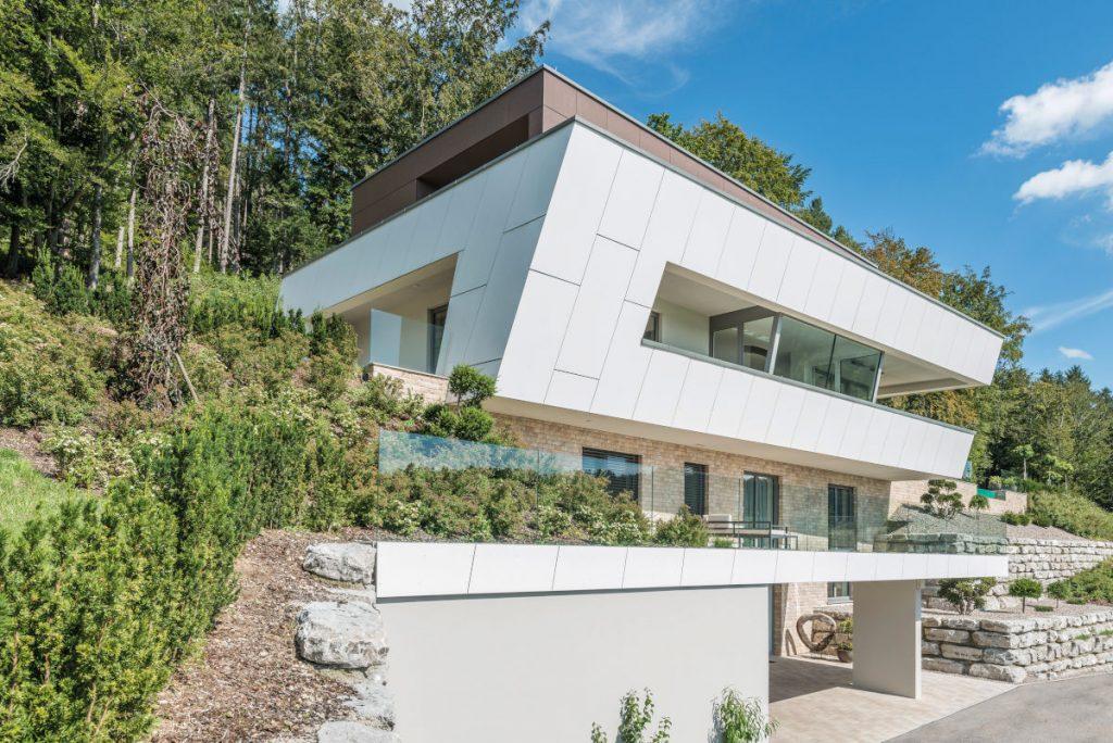 La disposition des fenêtres de maisons passives est essentielle